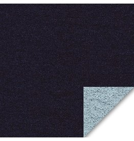 Robert Kaufman Indigo French Terry Medium Weight Knit, Fabric Half-Yards I115-1178