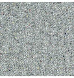 Robert Kaufman French Terry Medium Weight Knit in Grey Speckle, Fabric Half-Yards SRK-16475-12