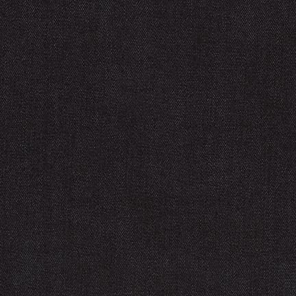 Robert Kaufman House of Denim Austin Stretch Denim in Indigo, Fabric Half-Yards SRK-17871-62