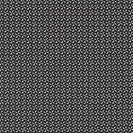 Sevenberry ON SALE-Micro Classics in Black, Fabric Half-Yards SB-82118D8-5