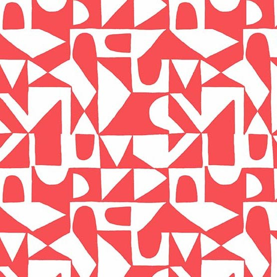 Sarah Golden ON SALE-Around Town, Improv in Rose, Fabric Half-Yards A-8764-O