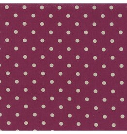 Moda Linen Mochi Dot in Boysenberry, Fabric Half-Yards
