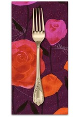 PD's Cotton + Steel Collection Eclipse, Roses in Wine, Dinner Napkin