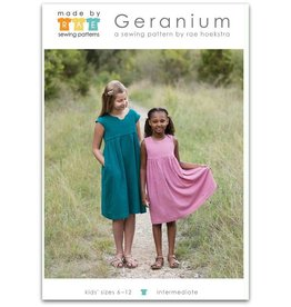 Made By Rae Made by Rae's Big Girl Geranium Dress Pattern