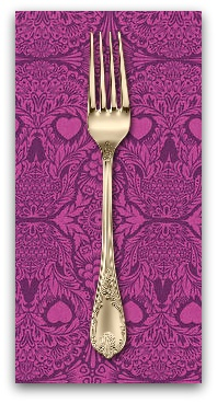 PD's Tula Pink Collection De La Luna, Sugar Skulls in Clairvoyant, Dinner Napkin