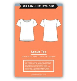 Grainline Studio Grainline's Scout Tee Pattern