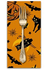 PD's Andover Collection Haunting, Halloween in Orange, Dinner Napkin