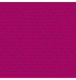 Andover Fabrics ON SALE-Mosaic, Emily in Plum, Fabric Half-Yards A-8885-E