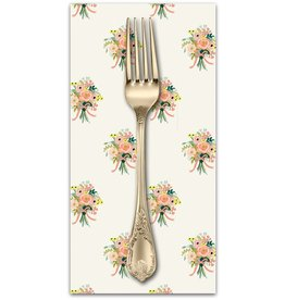 PD's Rifle Paper Co Collection English Garden, Bouquets in Cream, Dinner Napkin