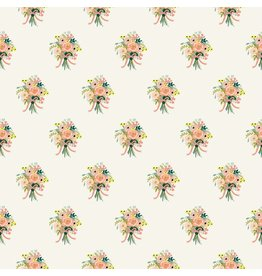 Rifle Paper Co. ON SALE-English Garden, Bouquets in Cream, Fabric Half-Yards AB8061-001