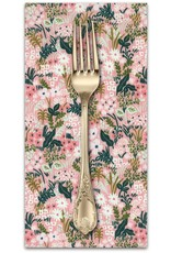 PD's Rifle Paper Co Collection English Garden, Meadow in Pink, Dinner Napkin