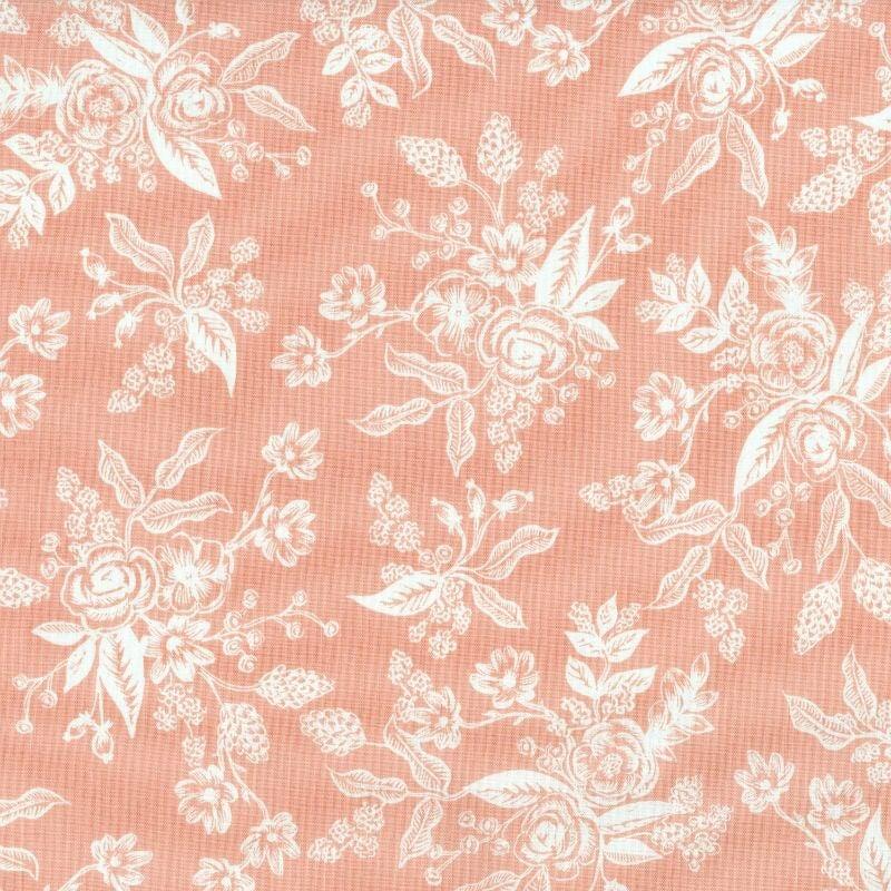 Rifle Paper Co. English Garden, Toile in Peach, Fabric Half-Yards AB8060-001