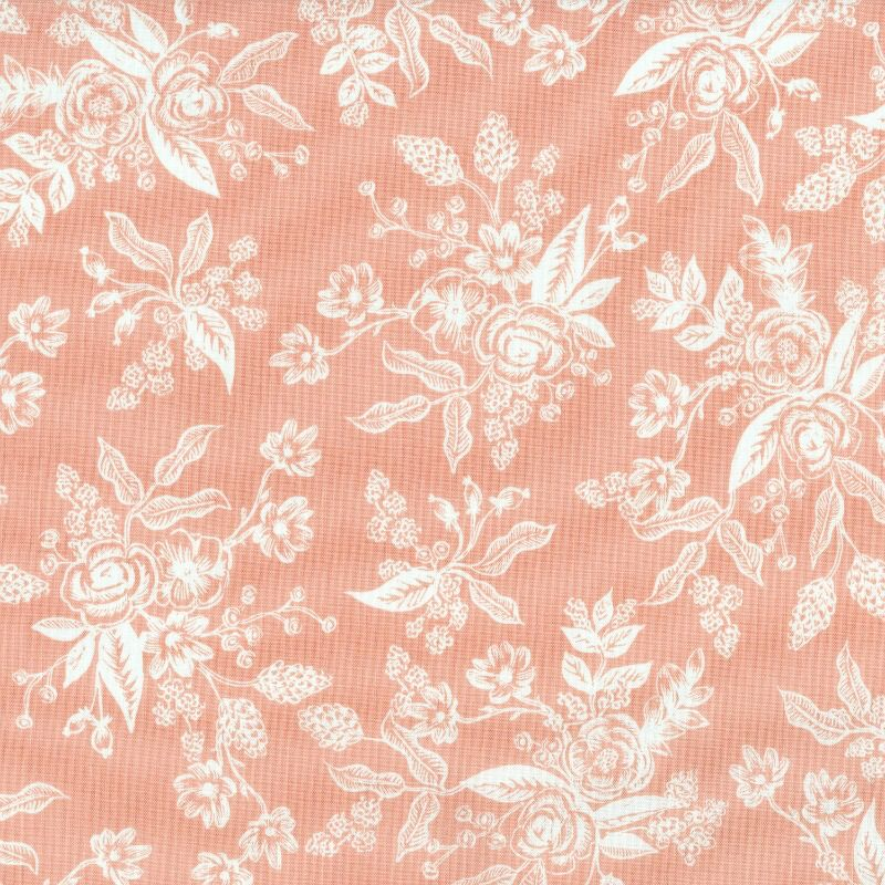 Rifle Paper Co. ON SALE-English Garden, Toile in Peach, Fabric Half-Yards AB8060-001