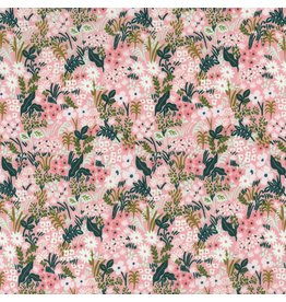 Rifle Paper Co. ON SALE-English Garden, Meadow in Pink, Fabric Half-Yards AB8059-003