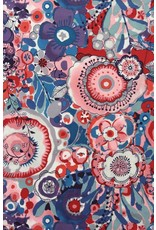 Alexander Henry Fabrics Cotton Lawn, AH Larkspur in Bloom, in Multi, Fabric Half-Yards L7428B