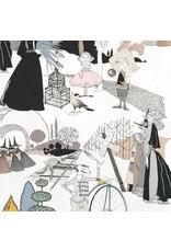 Alexander Henry Fabrics The Ghastlies, A Ghastlie Pastoral in Mauve, Fabric Half-Yards 8591A