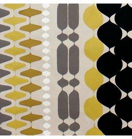Alexander Henry Fabrics The Ghastlies, A Ghastlie Bead in Gold, Fabric Half-Yards 8387A