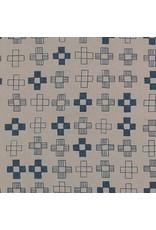 Karen Lewis ON SALE-Blueberry Park, Plus in Smoke, Fabric Half-Yards AWI-17466-293