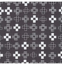 Karen Lewis ON SALE-Blueberry Park, Plus in Gotham Grey, Fabric full-Yards AWI-17466-400