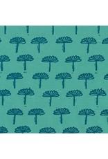 Karen Lewis Blueberry Park, Trees in Sage, Fabric Half-Yards AWI-17467-34