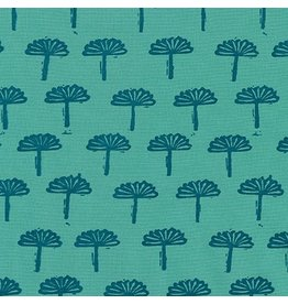 Karen Lewis Blueberry Park, Trees in Sage, Fabric Half-Yards AWI-17467-34