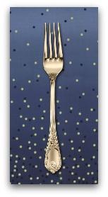 PD's Moda Collection Ombre Confetti in Indigo, Dinner Napkin