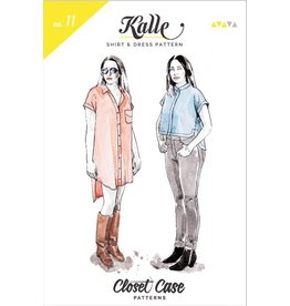 """Closet Case Patterns Closet Case """"Kalle Shirt + Shirtdress"""" Pattern"""