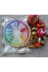 Dropcloth Samplers Color Wheel Sampler, Embroidery Sampler from Dropcloth Samplers