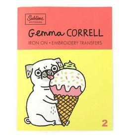 Sublime Stitching Gemma Correll Embroidery Transfer Booklet from Sublime Stitching