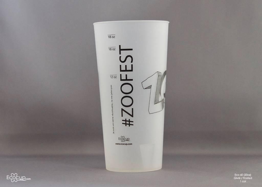 Eco60 (60cl/20oz) - 300 verres par boite
