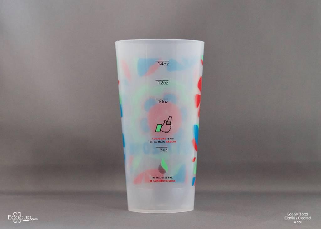 Eco50 (50cl/16oz) - 200 cups per box