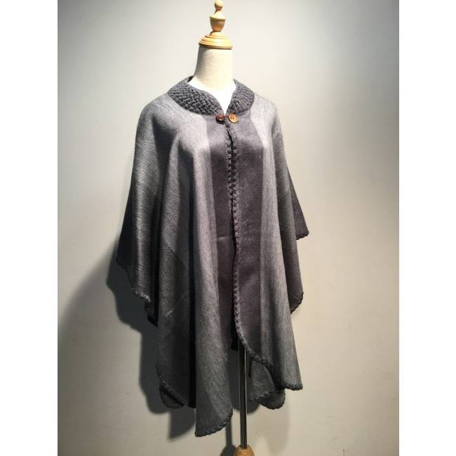 Alpaca TC Alpaca wool poncho