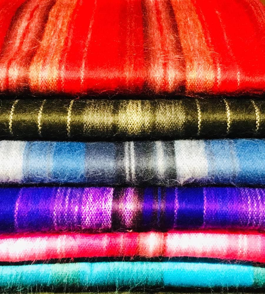 Alpaca PK Alpaca Striped Scarves