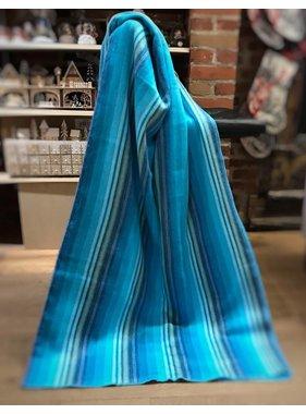Alpaca TC Jetée de laine Alpaga -  Bleu pâle
