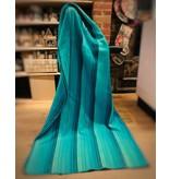 Jeté de laine Alpaga -  Turquoise