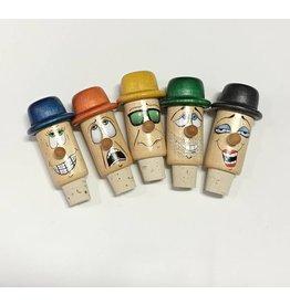 Les Guédines en Folie Funny Wine Bottle Stopper