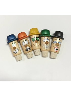 Les Guédines en Folie Funny Wine Bottle Stopper