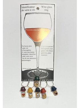 Identificateurs de verre à vin