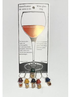 Wine glass rings