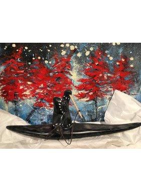 Marosan enr Chasseur Inuit sur Kayak