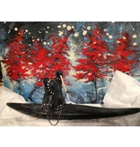Marosan enr Inuit Hunter on Kayak