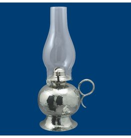 """Atelier B.Chaudron Hammered oil lamp 14½"""" #104"""