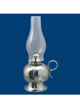 "Atelier B.Chaudron Hammered oil lamp 14½"" #104"