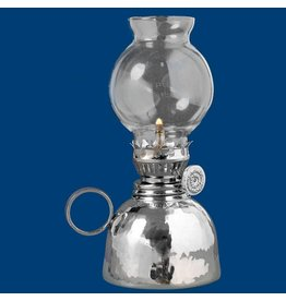 """Atelier B.Chaudron Hammered oil lamp 6½"""" #239M"""