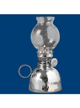 """Atelier B.Chaudron Lampe à huile martelée 6½"""" #239M"""