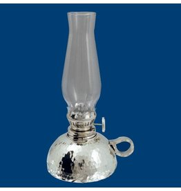 """Atelier B.Chaudron Hammered oil lamp 7"""" 262M"""