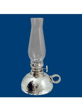 "Atelier B.Chaudron Hammered oil lamp 7"" 262M"
