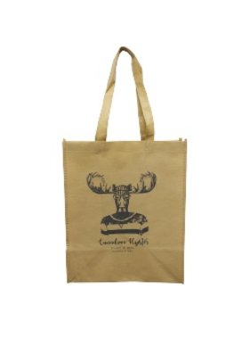 Shopping Bag Hipster Moose
