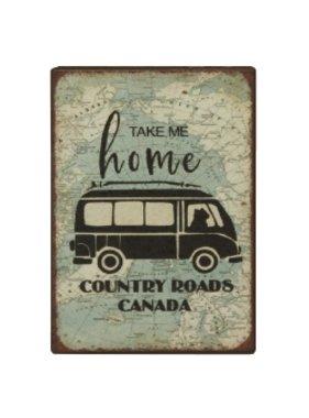 Fridge Magnet Country Roads