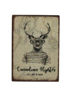 Fridge Magnet Hipster Deer